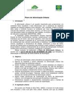 Plano de Arborização Urbana - Santo Antônio do Aracanguá