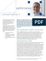 10 System Center 2012 R2 Application Performance Monitoring Datasheet