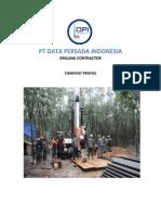 Company Profile PT Data Persada Indonesia