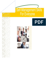 Self Management Skills for Everyone