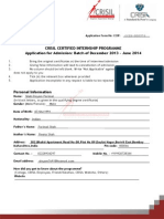Ccip Application Form