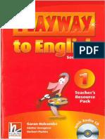 New Playway 1 Teacher's Resource Pack