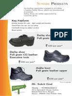 Safety Shoe Catalogue