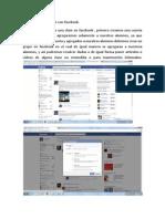 BITACORA 1 Una Clase Con Facebook