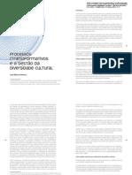 Processos (Trans) Formativos e a Gestao Da Diversidade Cultural (JMB)
