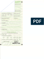 Sample Departure Card India Foreign Indian Nationals