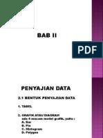 Statistik Bab II