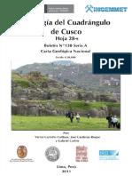 BOLETIN 138A GEOLOGÍA DEL CUADRANGULO DEL CUSCO