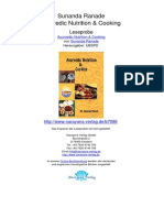Ayurvedic Nutrition Cooking Sunanda Ranade.07086_2Assessment of Constitution