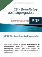 NCRF 28 – Benefícios dos Empregados (2)