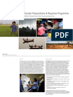 Designing an Effective Disaster Preparedness Response Programme