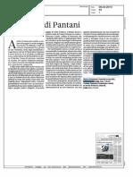 Pantani era un dio di Marco Pastonesi sul Sole 24 Ore