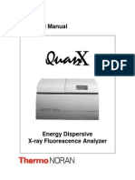Quanx Energy Dispersive X-ray Fluorescence Analyzer Manual