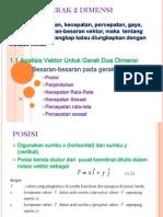 c. Gerak Dua Dimensi Rev PDF