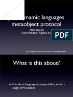 JVM Dynamic Languages Metaobject Protocol