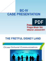 Disneyland Case Study