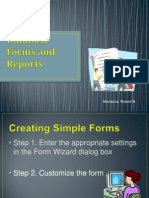 Database Forms and Reports-2