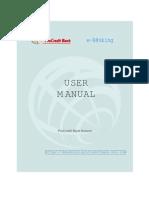 Ebanking Manual