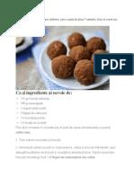 Gomboțuri din biscuiți cu cafea și ciocolată