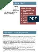 Organizational Culture Lecture