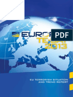 EU Terrorism Situation and Trend Report (TE-SAT 2013)