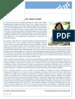 Biocon CMD Profile 2014