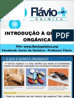 INTRODUÇÃO À QUÍMICA ORGÂNICA - 2014