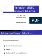 Admin Basica Unix 2013