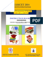 EAMCET Engineering Information Brochure