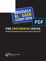 Political blogging and social media in Brussels