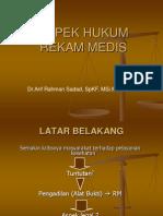 Aspek Hukum Rekam Medis
