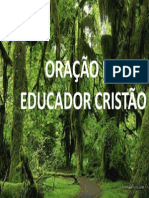 ORAÇÃO DO EDUCADOR CRISTÃO