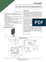 STR X6737 Datasheet