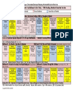 Updated DCIDAMD Conference-Schedule-Matrix of Presentations