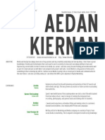 Aedan's CV New Employee 2014