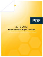 Aerohive Branch Router Buyers Guide