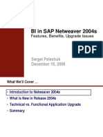 SAP BI NW 2004s Review