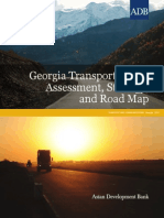Georgia Transport Sector Assessment, Strategy, and Road Map