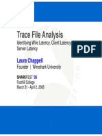 T2 4 Chappell Trace File Analysis Latency