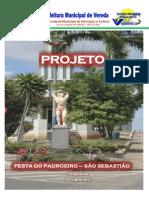 Projeto Dia Do Padroeiro de Vereda Bahia