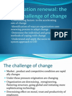 2. Orgnization Renewa the Challenges of Change