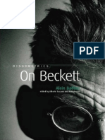 Badiou on Beckett