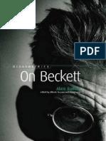 Badiou on Beckett