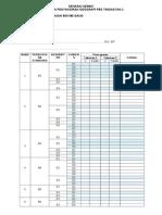 Senarai Semak Pelaksanaan Pbs T1 1 GEOGRAFI