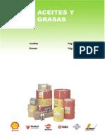 Aceite y Grasas Iso Clasificacion