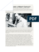 Guido Carelli Lynch - ¿Quién mató a Albert Camus¿