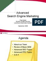 Advanced Search Engine Marketing (SEM) Presentation