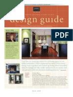 Design Guide Fall 09