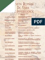 Revista Romana de Intelligence