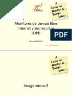 Monitores de Tiempo Libre Noviembre 2011 Monzon